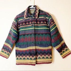 Susan Bristol Southwestern Jacket 100% Cotton